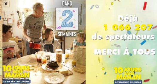 10 JOURS SANS MAMAN : PRODUCTION DE CONTENUS ET RP ONLINE
